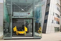 McLaren car showroom in Manama, Kingdom of Bahrain