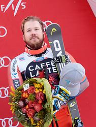 28.12.2017, Stelvio, Bormio, ITA, FIS Weltcup, Ski Alpin, Abfahrt, Herren, Flower Zeremonie, im Bild Kjetil Jansrud (NOR, 3. Platz) // third placed Kjetil Jansrud of Norway during the Flowers ceremony for the men's downhill of FIS Ski Alpine World Cup at the Stelvio course, Bormio, Italy on 2017/12/28. EXPA Pictures © 2012, PhotoCredit: EXPA/ Johann Groder