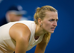 September 1, 2018 - Petra Kvitova of the Czech Republic in action during her third-round match at the 2018 US Open Grand Slam tennis tournament. New York, USA. September 02th, 2018. (Credit Image: © AFP7 via ZUMA Wire)