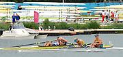 Eton Dorney, Windsor, Great Britain,<br /> <br /> 2012 London Olympic Regatta, Dorney Lake. Eton Rowing Centre, Berkshire[ Rowing].<br /> <br /> Description; Women's Pairs,  Gold Medalist Helen GLOVER and Heather STANNING. GBR W2-   Dorney Lake.<br /> <br /> 11:57:58  Wednesday  01/08/2012<br /> <br /> [Mandatory Credit: Peter Spurrier/Intersport Images]