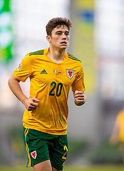 DUBLIN, REPUBLIC OF IRELAND - Sunday, October 11, 2020: Wales' Daniel James during the UEFA Nations League Group Stage League B Group 4 match between Republic of Ireland and Wales at the Aviva Stadium. The game ended in a 0-0 draw. (Pic by David Rawcliffe/Propaganda)