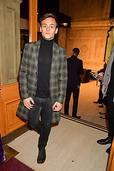 TOM DALEY at the opening night of Amaluna by Cirque Du Soleil at The Royal Albert Hall, London on 19th January 2016.