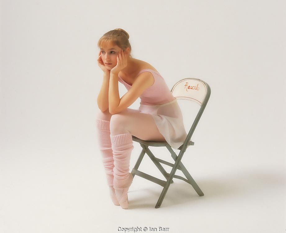 Portrait of a Ballet Dancer.