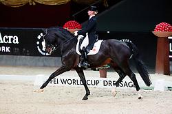 Von Bredow-Werndl Jessica, (GER), Unee BB<br /> MEVISTO Amadeus Horse Indoor Salzburg<br /> © Hippo Foto - Stefan Lafrentz<br /> 11-12-2016