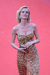 Eva Herzigova arriving at Les Fantomes d'Ismael screening and opening ceremony held at the Palais Des Festivals in Cannes, France on May 17, 2017, as part of the 70th Cannes Film Festival. Photo by Aurore Marechal/ABACAPRESS.COM