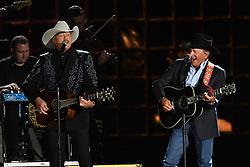 Alan Jackson, George Strait bei den 50. Country Music Awards in Nashville / 021116<br /> <br /> *** Country Music Awards 2016, Nashville, USA, November 2, 2016 ***