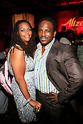 """Kristi Henderson and Deryck Thompson at The Ludacris Foundation 5th Annual Benefit Dinner & Casino Night sponsored by Alize, held at The Foundry at Puritan Mill in Atlanta, Ga on May 15, 2008.. Chris """"Ludacris"""" Bridges, William Engram and Chaka Zulu were the inspiration for the development of The Ludacris Foundation (TLF). The foundation is based on the principles Ludacris learned at an early age: self-esteem, spirituality, communication, education, leadership, goal setting, physical activity and community service. Officially established in December of 2001, The Ludacris Foundation was created to make a difference in the lives of youth. These men have illustrated their deep-rooted tradition of community service, which has broadened with their celebrity status. The Ludacris Foundation is committed to helping youth help themselves."""