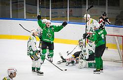 10# Sever Mark of HK SZ Olimpija during the match of Alps Hockey League 2020/21 between HK SZ Olimpija Ljubljana vs. EC Bregenzerwald, on 09.01.2021 in Hala Tivoli in Ljubljana, Slovenia. Photo by Urban Meglič / Sportida