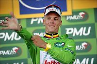 Sykling , 2. juli 2011 , Les Herbies (Mont des Alouettes)<br /> Tour de France 2011 / The Tour of France 2011 / 1st stage / Passage du Gois - Les Herbiers / <br /> GILBERT Philippe (OMEGA PHARMA - LOTTO - BEL)<br /> <br /> Norway only