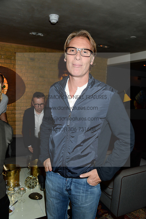 DAMIAN ASPINALL at the Launch of Pont St Restaurant at Belgraves Hotel, 20 Chesham Place, London SW1 on 10th September 2013.
