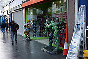 Fitness supplements shop in Leytonstone in East London, United Kingdom. Leytonstone is an area of East London, and part of the London Borough of Waltham Forest.