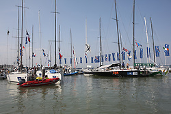 Brewin Dolphin Scottish Series 2014, an International IRC competition racing on the Solent off Cowes and hosted by the RORC.<br /> <br /> Cowes Yacht Haven<br /> <br /> Credit: Marc Turner
