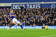 Leon Osman of Everton scores his sides second goal - Everton vs. West Ham United - Barclay's Premier League - Goodison Park - Liverpool - 22/11/2014 Pic Philip Oldham/Sportimage