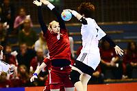 Håndball , 29. november 2013 , Møbelringen Cup kvinner<br /> Russland - Sør-Korea<br /> Anna Sen , Russland<br /> Handball , Women<br /> Russi - Korea