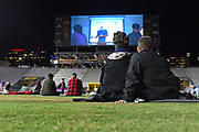 Sorry to Bother You outdoor movie showing at ASU Sun Devil Stadium