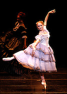 (3/18/04 Boston, MA) Boston Ballet's Lady of the Camellias dress rehearsal. Marguerite, Larissa Ponomarenko  dances during the dress rehearsal. (c) Michael J Seamans ..www.michaelseamans.com