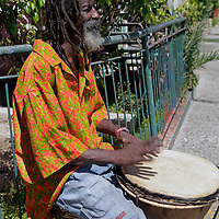 Americas, Caribbean, Antigua & Barbuda. Caribbean native of Antigua.