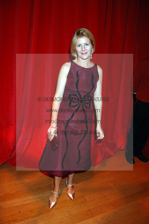 VISCOUNTESS LINLEY at a dinner held at the Natural History Museum to celebrate the re-opening of their store at 175-177 New Bond Street, London on 17th October 2007.<br /><br />NON EXCLUSIVE - WORLD RIGHTS