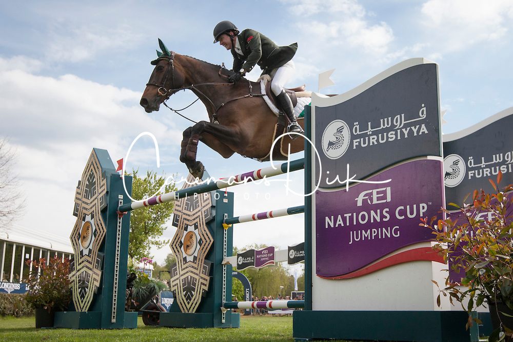 Broderick Greg Patrick, (IRL), Mhs Going Global <br /> Furusiyya FEI Nations Cup of Belgium<br /> Longines Spring Classic of Flanders - Lummen 2015<br /> © Hippo Foto - Leanjo de Koster<br /> 01/05/15