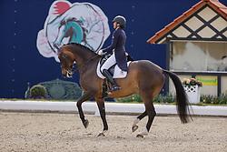 HAGEN a.T.W. - Horses and Dreams meets Japan Sports Edition 2021<br /> <br /> FERRER-SALAT Beatriz (ESP), Elegance<br /> CDI 4* Grand Prix<br /> Qualifikation für Grand Prix Special<br /> Preis des Gestütes Vorwerk<br /> <br /> Hagen a.T.W., Hof Kasselmann<br /> 23. April 2021<br /> © www.sportfotos-lafrentz.de/Stefan Lafrentz