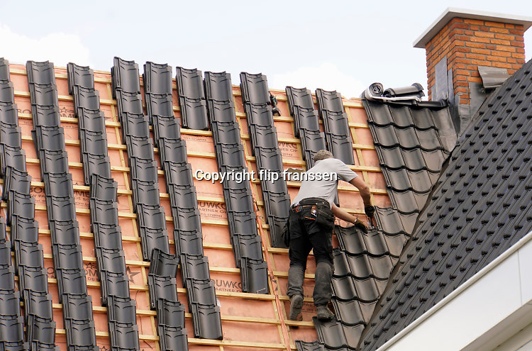 Nederland, Deest, 2-7-2019Nieuwbouw in dit dorp in het land van Maas en Waal.Foto: Flip Franssen