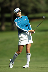 June 14, 2018 - Belmont, Michigan, United States - So Yeon Ryu of Korea follows her shot on the 9th green during the first round of the Meijer LPGA Classic golf tournament at Blythefield Country Club in Belmont, MI, USA  Thursday, June 14, 2018. (Credit Image: © Jorge Lemus/NurPhoto via ZUMA Press)