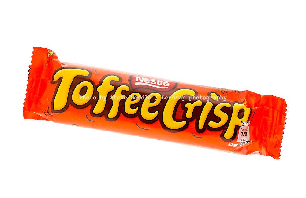 Nestle Toffee Crisp Chocolate Bar - Jan 2012