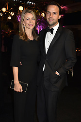 Charlie Gilkes and wife Anneke at the Boodles Boxing Ball, in association with Argentex and YouTube in Support of Hope and Homes for Children at Old Billingsgate London, United Kingdom - 7 Jun 2019 Photo Dominic O'Neil