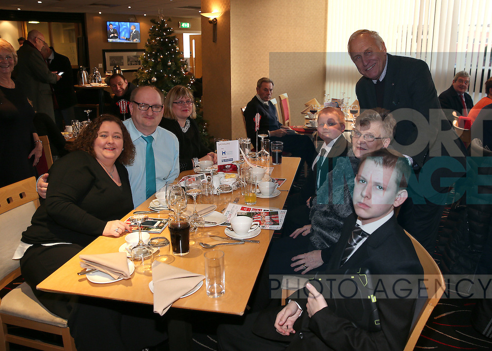Chairman Kevin McCabe with guests during the English League One match at Bramall Lane Stadium, Sheffield. Picture date: December 26th, 2016. Pic Simon Bellis/Sportimage