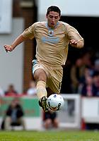 Photo: Catrine Gapper.<br /> Brentford v Bristol City. Coca Cola League 1.<br /> 24/09/2005.<br /> Bradley Orr taking control of the ball.