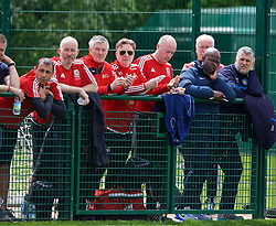 NEWPORT, WALES - Sunday, May 22, 2016: Delegates during the Football Association of Wales' National Coaches Conference 2016 at Dragon Park FAW National Development Centre. (Pic by David Rawcliffe/Propaganda)