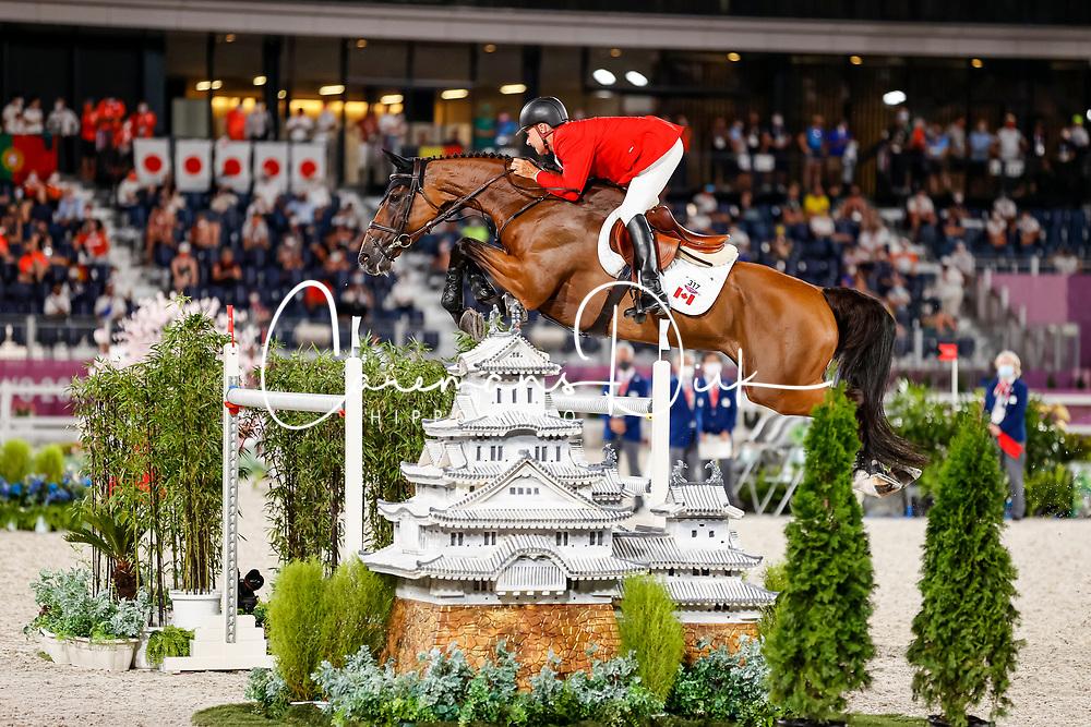 Deslauriers Mario, CAN, Bardolina 2, 317<br /> Olympic Games Tokyo 2021<br /> © Hippo Foto - Dirk Caremans<br /> 04/08/2021
