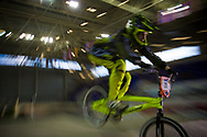 #111 (GREEN Charlotte) GBR at the UCI BMX Supercross World Cup in Manchester, UK