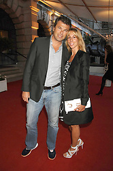 JONATHAN & HAYLEY SIEFF at the Royal Academy of Art Summer Exhibition Preview Party on 4th June 2008.<br />