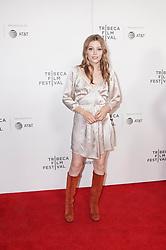 Grace Van Dien at 'Charlie Says' at the Tribeca Film Festival in New York City.