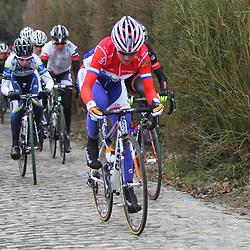 Sportfoto archief 2013<br /> Omloop Het Nieuwsblad women Annemiek van Vleuten