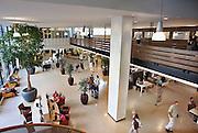 Nederland, Nijmegen, 29-8-2012..De centrale hal van het UMC St Radboud. NIET MODEL RELEASED. NIET VOOR RECLAME ENZ...Foto: Flip Franssen