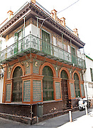 Historic house in the ceramic tile making area of Triana, Seville, Spain