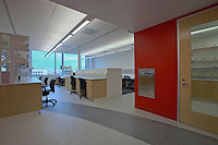Interior Photography of the Lieber Institute for Brain Development at the East Baltimore location Of the Johns Hopkins Hospital