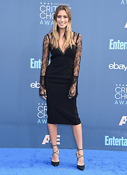 Celebrities arrive on the red carpet for the 22nd Annual Critics' Choice Awards held at Barker Hanger in Santa Monica. 11 Dec 2016 Pictured: Renee Bargh. Photo credit: American Foto Features / MEGA TheMegaAgency.com +1 888 505 6342