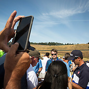 Golf fans with cameras are increasing at tournaments, including the 2015 US Open at Chambers Bay in Washington.