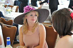 Mia Austen at the Investec Derby at Epsom Racecourse, Epsom Downs, Surrey on 4th June 2011.