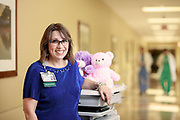 Carol Shank poses for a portrait at Oak Hill Hospital in Brooksville, on Thursday, March 1, 2018. For Parallon