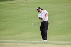 August 12, 2018 - Town And Country, Missouri, U.S - PAT PEREZ from Scottsdale Arizona, USA chips up to the 18th green during round four of the 100th PGA Championship on Sunday, August 12, 2018, held at Bellerive Country Club in Town and Country, MO (Photo credit Richard Ulreich / ZUMA Press) (Credit Image: © Richard Ulreich via ZUMA Wire)