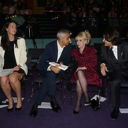 London, UK. 31th October, 2016. Sadiq Khan,Dame Barbara Windsor, Scott Mitchell attends The Mayor of London ceremony Team London Awards at City Hall, London,UK. Photo by See Li