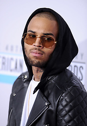 File photo - Chris Brown attends the 40th American Music Awards held at Nokia Theatre L.A. Live on November 18, 2012 in Los Angeles, CA, USA. US singer Chris Brown was arrested in Paris yesterday morning January 21, 2019, with two other people on suspicion of rape, a French police source said. Three men had been detained after a 24-year-old woman alleged she was raped at Brown's hotel suite on the night of January 15, 2019. Photo by Lionel Hahn/ABACAPRESS.COM