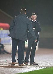 Ross County's manager Jim McIntrye.<br /> St Johnstone 2 v 1 Ross County, Scottish Premiership 22/11/2014 at St Johnstone's home ground, McDiarmid Park.
