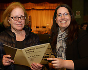 24/02/2018  Jane O'Leary Galway Music Residency and Sinead Hayes from Tuam  at a public meeting to discuss the future plans for a School of Music for Galway city, organised by Maoin Cheoil na Gaillimhe at Presentation NS. Photo:Andrew Downes, XPOSURE .