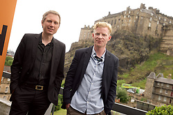 2016 Edinburgh International Film Festival, Alex Kapranos (Musician) and Niall McCann (Director) during the WORLD PREMIERE (DOCUMENTARY) LOST IN FRANCE, The Apex Hotel Grassmarket, Edinburgh16th June 2016, (c) Brian Anderson | Edinburgh Elite media