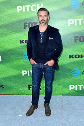 September 13, 2016 - Los Angeles, Kalifornien, USA - Eddie Cibrian bei der Premiere der FOX TV-Serie 'Pitch' auf dem West LA Little League Field. Los Angeles, 13.09.2016 (Credit Image: © Future-Image via ZUMA Press)